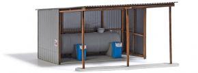 BUSCH 1912 LPG Tankstelle | Gebäude Bausatz Spur H0 kaufen
