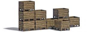 BUSCH 1980 Erntekisten Set | 10 Stück | Bausatz Spur H0 kaufen