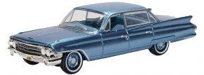 BUSCH 201133396 Cadillac Sedan blau | Auto-Modell 1:87 kaufen
