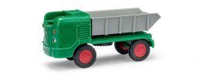 BUSCH Mehlhose 210006300 Multicar M21 Muldenkipper grün Automodell 1:87 kaufen