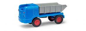 BUSCH Mehlhose 210006301 Multicar M21 Muldenkipper blau Automodell 1:87 kaufen