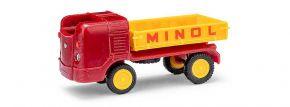 BUSCH 210008500 Multicar M21 mit Pritsche Minol Autmodell 1:87 kaufen