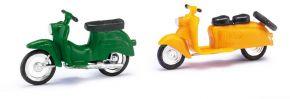 BUSCH 210008901 Berliner Roller Schwalbe gelb u grün 2 Stück Bausätze Spur H0 kaufen