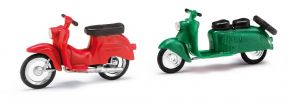 BUSCH 210008904 Berliner Roller Schwalbe rot u grün 2 Stück Bausatz Spur H0 kaufen
