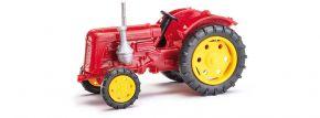 BUSCH 210010108 Traktor Famulus dunkelrot Landwirtschaftsmodell 1:87 kaufen