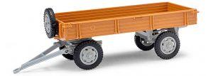 BUSCH Mehlhose 210010203 Anhänger T4 hellbraun Landwirtschaftsmodell 1:87 kaufen