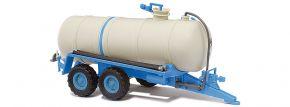 BUSCH 42867 Flüssigmist-Tankanhänger HTS 100 blau | Anhängermodell 1:87 kaufen