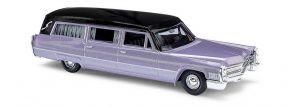 BUSCH 42922 Cadillac 66 Station Wagon Bestattungswagen lila-metallic Automodell 1:87 kaufen