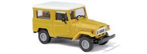 BUSCH 43034 Toyota Land Cruiser J4, gelb   Modellauto 1:87 kaufen