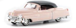 BUSCH 43421 Cadillac Fleetwood Cabrio 1952 rose Modellauto 1:87 kaufen