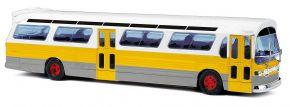 BUSCH 44518 US Bus Fishbowl gelb mit Schilder Busmodell 1:87 kaufen