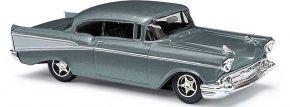 BUSCH 45045 Chevrolet Bel Air Limousine metallic-grau Automodell 1:87 kaufen