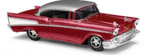 BUSCH 45046 Chevrolet Bel Air Limousine metallic-rot Automodell 1:87 kaufen