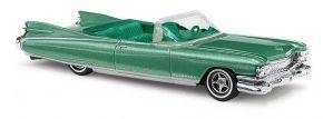 BUSCH 45119 Cadillac Eldorado Cabriolet metallica-grün Automodell 1:87 kaufen