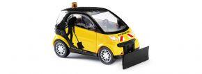 BUSCH 46148 Smart Fortwo 2007 mit Schneeschieber Automodell 1:87 kaufen