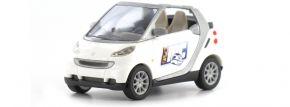 BUSCH 46170-118 SMART Fortwo Cabrio mit MC-Werbung Spur H0 kaufen