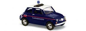 BUSCH 48728 Fiat 500 Carabinieri Blaulichtmodell 1:87 kaufen