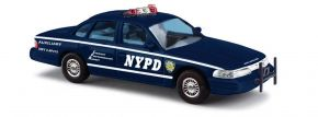 BUSCH 49002 Ford Crown Victoria NYPD Auxiliary Police Blaulichtmodell 1:87 kaufen