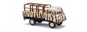 BUSCH 50226 Robur LO 2002 mit Pritsche Safari LKW-Modell 1:87 kaufen