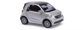 BUSCH 50703 Smart Fortwo Coupe 2014 silber CMD-Ausführung Automodell 1/87 kaufen