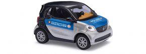 BUSCH 50720 Smart Fortwo 2014 Polizei Blaulichtmodell 1:87 kaufen