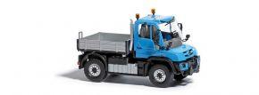 BUSCH 50901 Mercedes-Benz Unimog U 430 blau Baufahrzeug 1:87 kaufen