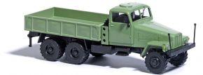 BUSCH 51500 IFA G5 grün 3achsig mit Pritsche LKW-Modell 1:87 kaufen