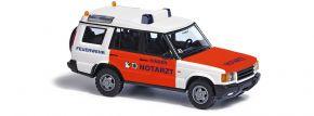 BUSCH 51920 Land Rover  Discovery Kinder Notarzt München Blaulichtmodell 1:87 kaufen
