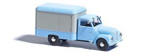 BUSCH 52001 Framo V901/2 Kofferaufbau blau weiss Automodell 1:87 kaufen