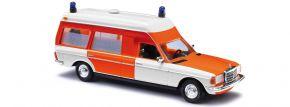 BUSCH 52201 Mercedes-Benz VF123 KTW Miesenaufbau Feuerwehr neutral Blaulichtmodell 1:87 kaufen