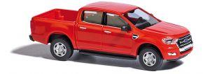 BUSCH 52801 Ford Ranger rot Automodell 1:87 kaufen