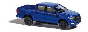 BUSCH 52803 Ford Ranger blau Automodell 1:87 kaufen
