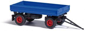 BUSCH 53000 IFA HW60 Niederdruckbereifung blau Anhänger 1:87 kaufen