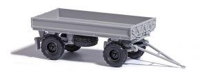 BUSCH 53002 IFA HW60 mit Kippgestänge und Niederdruckbereifung grau Anhängermodell 1:87 kaufen