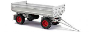 BUSCH 53007 IFA HW 60 mit Kippgestell und Aufsatz, grau | Landwirtschaftsmodell 1:87 kaufen