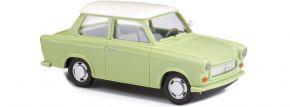 BUSCH 53106 Trabant P601 Limousine, grün/weiß | Modellauto 1:87 kaufen