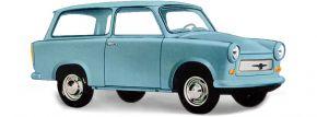 BUSCH 53200 Trabant P601 Kombi, blau | Modellauto 1:87 kaufen