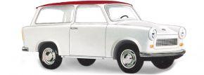 BUSCH 53209 Trabant Kombi de Luxe, weiß | Modellauto 1:87 kaufen