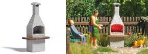 BUSCH 5403 Grillkamin mit glimmender Glut | Leuchteffekt | Spur H0 kaufen