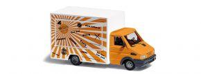 BUSCH 5429 Iveco Daily Verkaufswagen Sandwich mit Innenbeleuchtung Automodell 1:87 kaufen