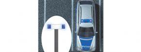 BUSCH 5938 Blaulichtblinkbalken mit Schaltung fertig montiert Spur H0 kaufen