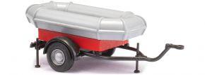 BUSCH 59969 Feuerwehranhänger mit Schlauchboot | Blaulichtmodell 1:87 kaufen