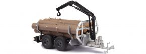 BUSCH 59972 Anhänger Forst-Rückewagen | Landwirtschaftsmodell 1:87 kaufen