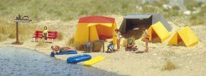 BUSCH 6026 Campingzelte mit Zubeör Fertigmodelle 1:87 kaufen