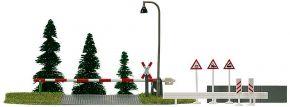 BUSCH 6040 Bahnübergang ohne Funktion Bausatz Spur H0 kaufen