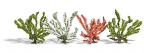 BUSCH 6064 Frühlingsbüsche   Höhe ca. 50 mm   4 Stück   Spur H0 kaufen