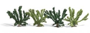 BUSCH 6065 Sommerbüsche grün 4 Stück Spur H0 kaufen