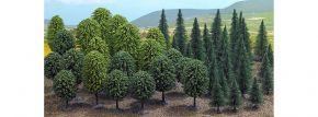 BUSCH 6491 Mischwald Laub- und Nadelbäume 50 Stck Spur H0 kaufen