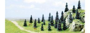 BUSCH 6598 Stecktannen | Höhe 30 mm bis 50 mm | 20 Stück | Nadelbäume Spur N+Z kaufen