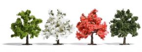 BUSCH 6841 Obstbäume 4 Stück Spur H0 kaufen